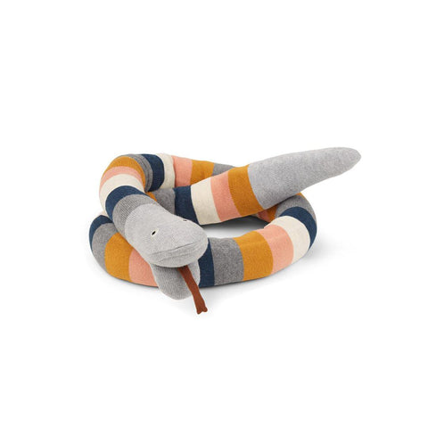 Liewood Fillippa Knitted Snake - Multi-Soft Toys- Natural Baby Shower