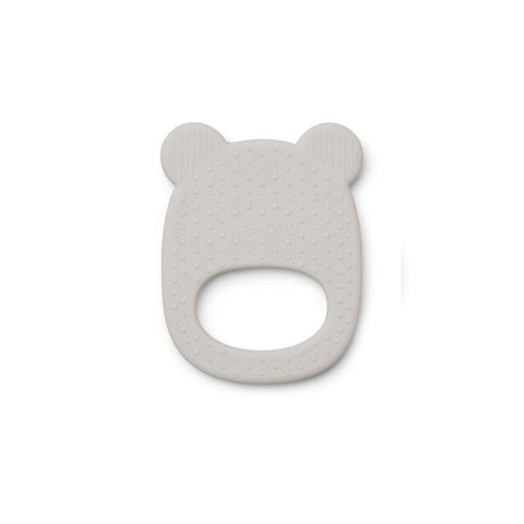 Liewood Gemma Silicone Mr Bear Teether - Dumbo Grey-Teethers- Natural Baby Shower