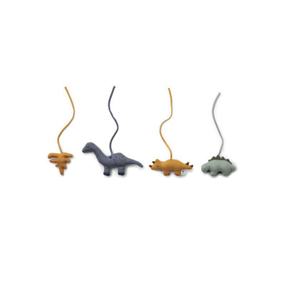 Liewood Gio Playgym Accessories - Dino Mix-Baby Gyms- Natural Baby Shower