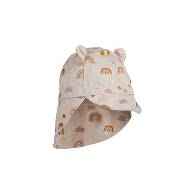 Liewood Gorm Sun Hat (2020) - Rainbow Love Sandy-Hats- Natural Baby Shower