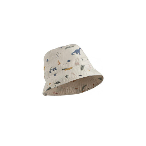 Liewood Jack Bucket Hat - Dino Mix-Hats- Natural Baby Shower