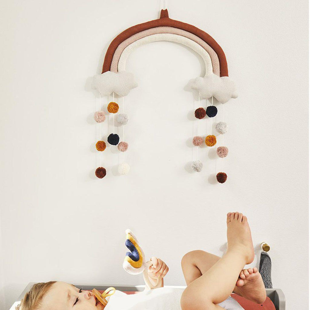 Liewood Judy Rainbow Mobile - Rusty Mix-Baby Mobiles- Natural Baby Shower