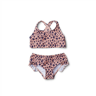 Liewood Juliete Bikini - Mini Leo/Coral Blush-Swimwear- Natural Baby Shower