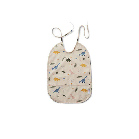 Liewood Lai Bib - Dino Mix-Bibs- Natural Baby Shower