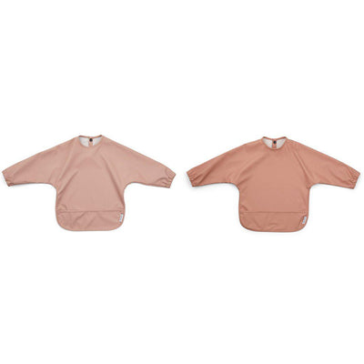 Liewood Merle Cape Bibs - Rose Mix - 2 Pack-Bibs- Natural Baby Shower