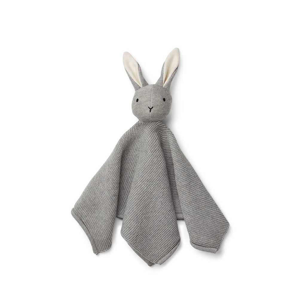 Liewood Milo Rabbit Knit Cuddle Cloth - Grey Melange