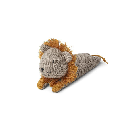 Liewood Missy Knit Teddy - Lion - Stone Beige-Soft Toys- Natural Baby Shower