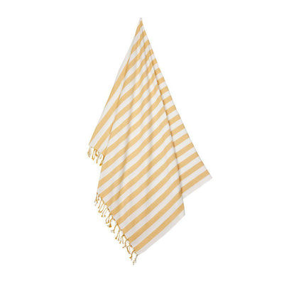 Liewood Mona Beach Towel - Yellow Mellow/Creme de la Creme-Towels & Robes- Natural Baby Shower