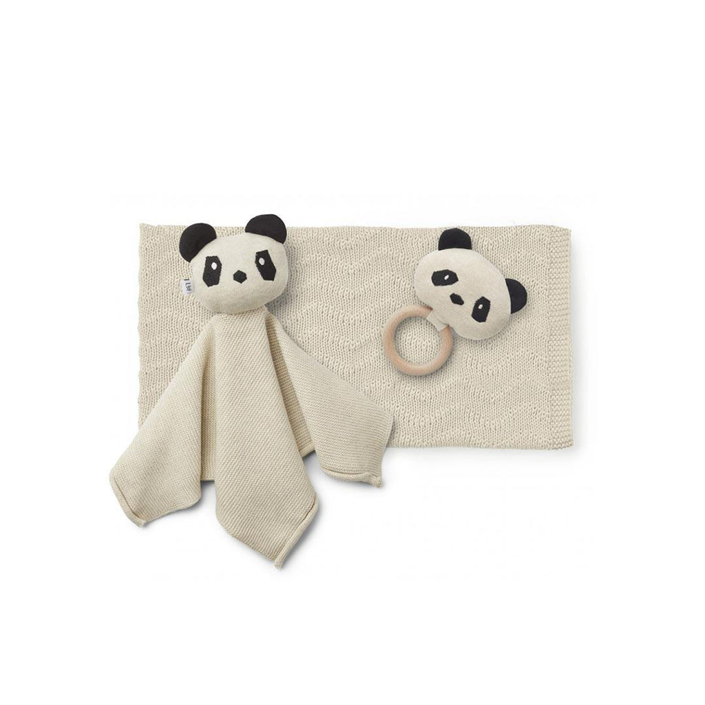 Liewood Petra Baby Knit Package - Beige Beauty-Gift Sets- Natural Baby Shower