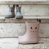 Liewood Rio Rain Boots - Cat - Rose-Wellies- Natural Baby Shower