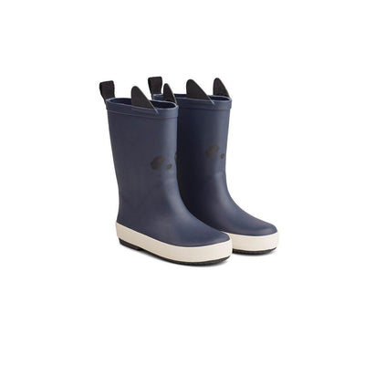 Liewood Rio Rain Boots - Panda - Navy-Wellies- Natural Baby Shower