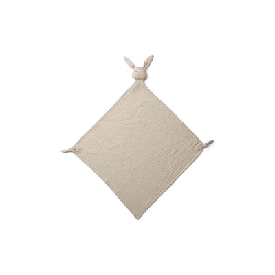 Liewood Robbie Muslin Cloth - Rabbit - Sandy-Muslin Squares- Natural Baby Shower