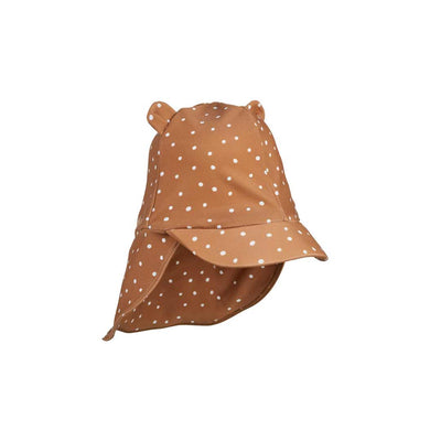 Liewood Senia Sun Hat - Confetti Terracotta-Hats- Natural Baby Shower