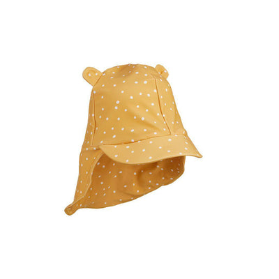 Liewood Senia Sun Hat - Confetti Yellow Mellow-Hats- Natural Baby Shower