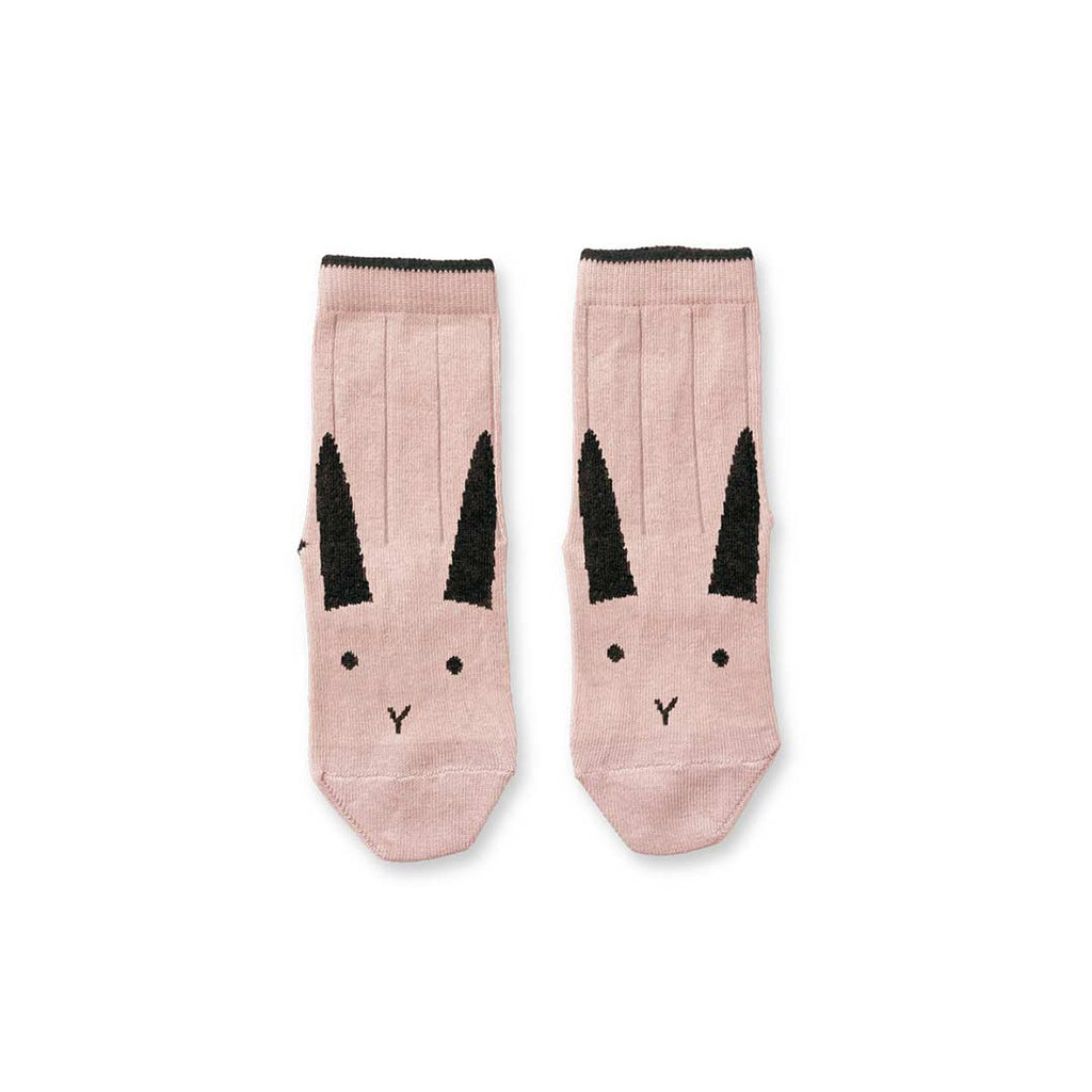 Liewood Silas Rabbit Socks - Rose