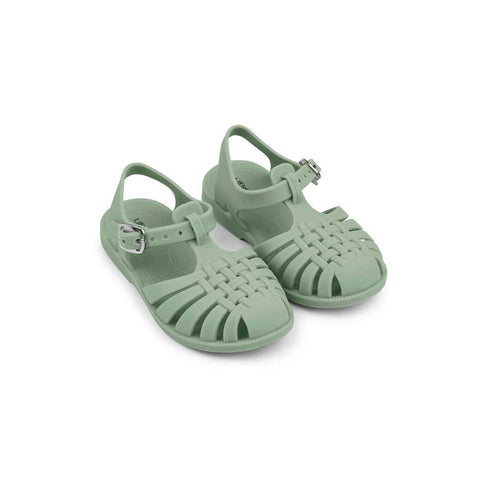 Liewood Sindy Sandals - Dusty Mint-Sandals- Natural Baby Shower