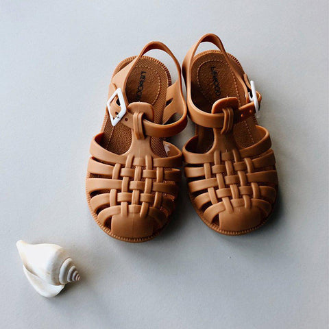Liewood Sindy Sandals - Mustard-Sandals- Natural Baby Shower