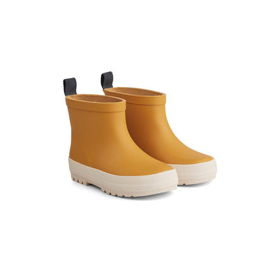 Liewood Tekla Rain Boots - Yellow Mellow/Creme de la Creme-Wellies- Natural Baby Shower