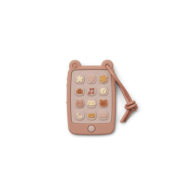 Liewood Thomas Mobile Phone - 2020 - Rose-Teethers- Natural Baby Shower