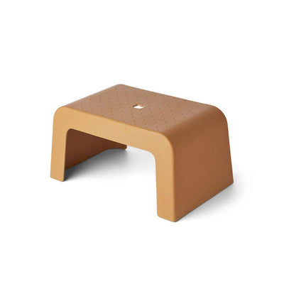 Liewood Ulla Step Stool - Mustard-Stools- Natural Baby Shower