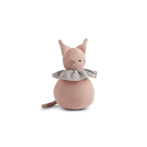 Liewood Valdemar Rabbit Knit Doll - Rose-Soft Toys- Natural Baby Shower
