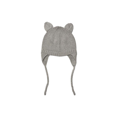 Liewood Violet Bonnet - Grey Melange-Hats- Natural Baby Shower