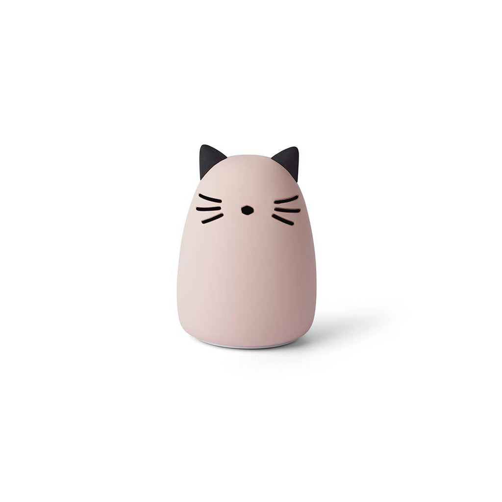 Liewood Winston Cat Night Light - Rose-Night Lights- Natural Baby Shower