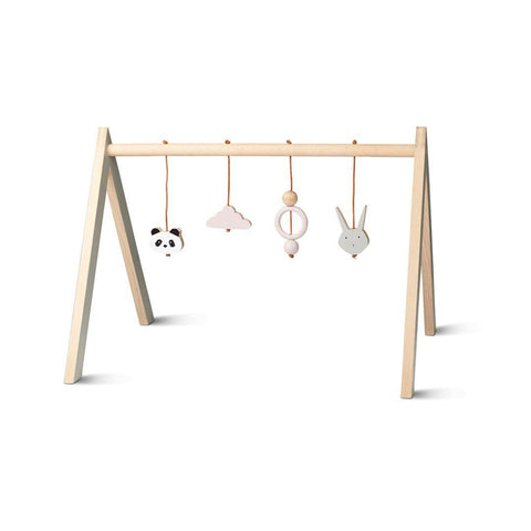 Liewood Wooden Playgym - Pink-Baby Gyms- Natural Baby Shower