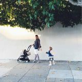 Babyzen YoYo Plus Complete Stroller - White with Black - Strollers - Natural Baby Shower