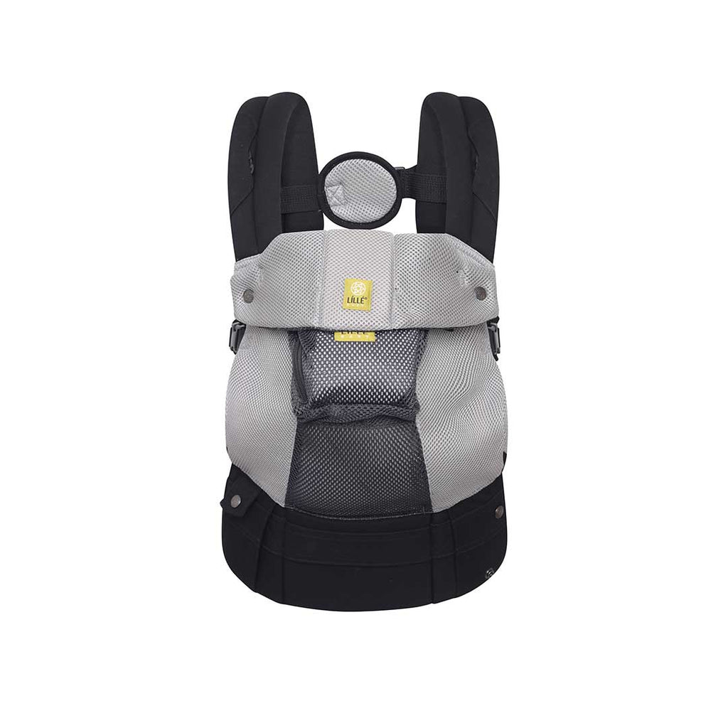 Lillebaby Airflow 6-in-1 Baby Carrier - Grey/Silver