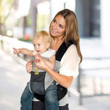 Lillebaby Airflow 6-in-1 Baby Carrier - Grey/Silver 1