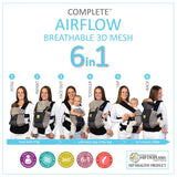 Lillebaby Airflow 6-in-1 Baby Carrier - Mist 2