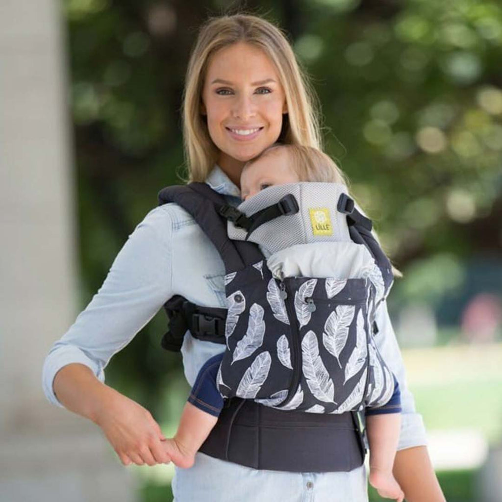 Lillebaby All Seasons 6-in-1 Baby Carrier - Birds of a Feather 4