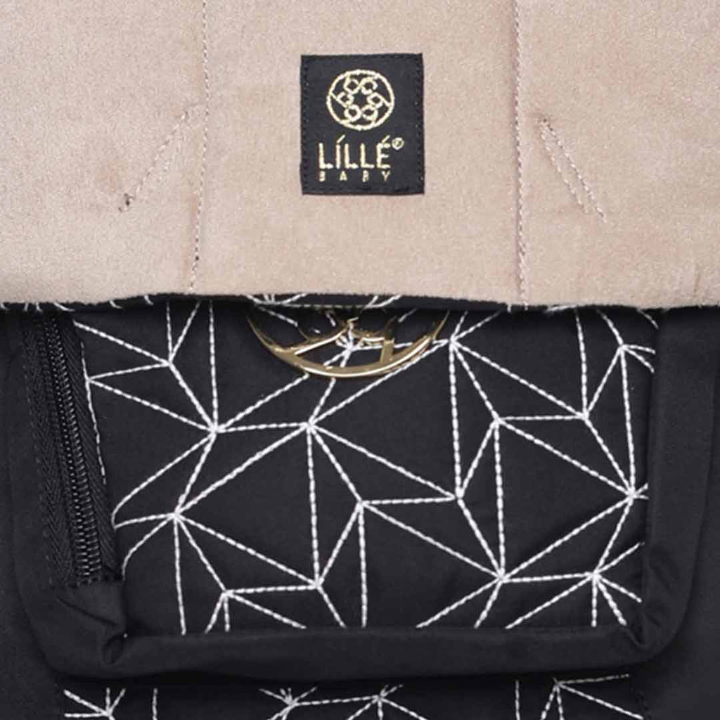Lillebaby Embossed 6-in-1 Baby Carrier - Luxe Diamond 1