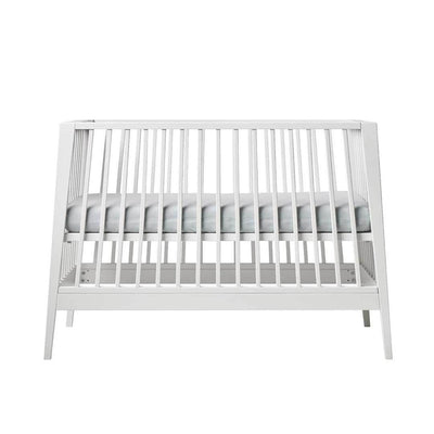 Linea by Leander Baby Cot - White-Cot Beds- Natural Baby Shower