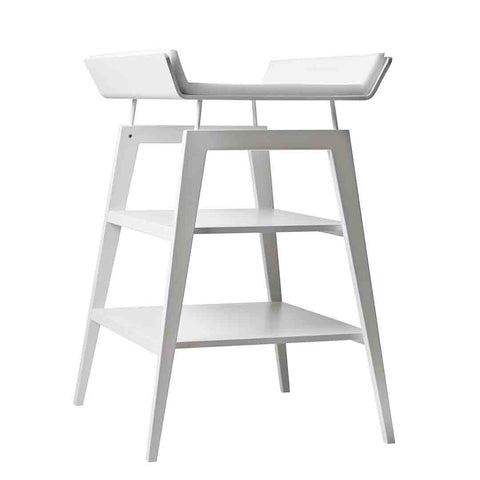 Linea by Leander Changing Table - White Side
