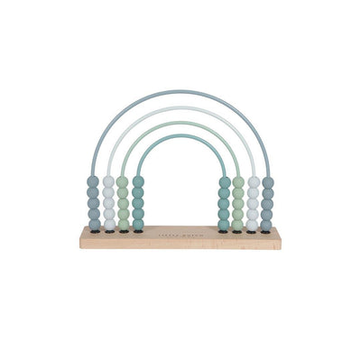 Little Dutch Rainbow Abacus - Blue-Sorting & Stacking Toys- Natural Baby Shower