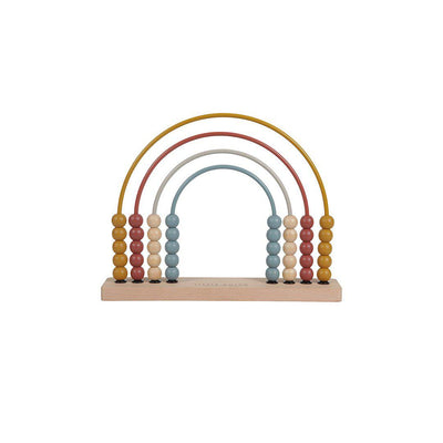 Little Dutch Rainbow Abacus - Pure + Nature-Sorting & Stacking Toys- Natural Baby Shower