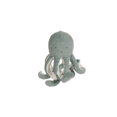 Little Dutch Small Cuddly Toy Octopus - Ocean Mint-Soft toys- Natural Baby Shower