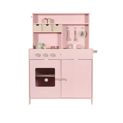 Little Dutch Wooden Play Kitchen - Pink-Play Sets- Natural Baby Shower