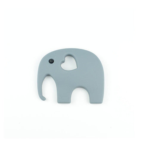 Little Magpies Elephant Teether - Grey