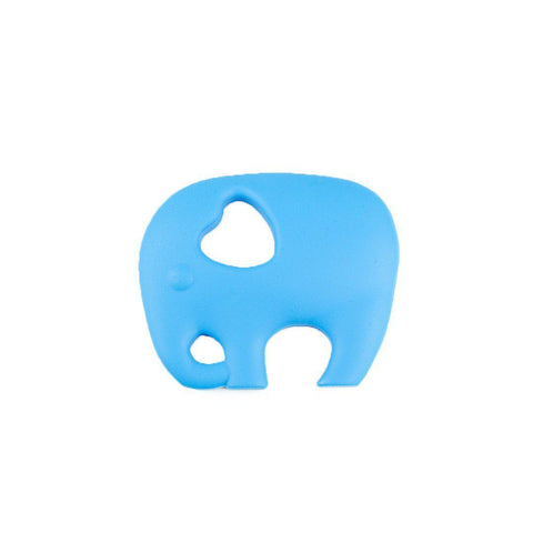 Little Magpies Elephant Teether - Sky Blue