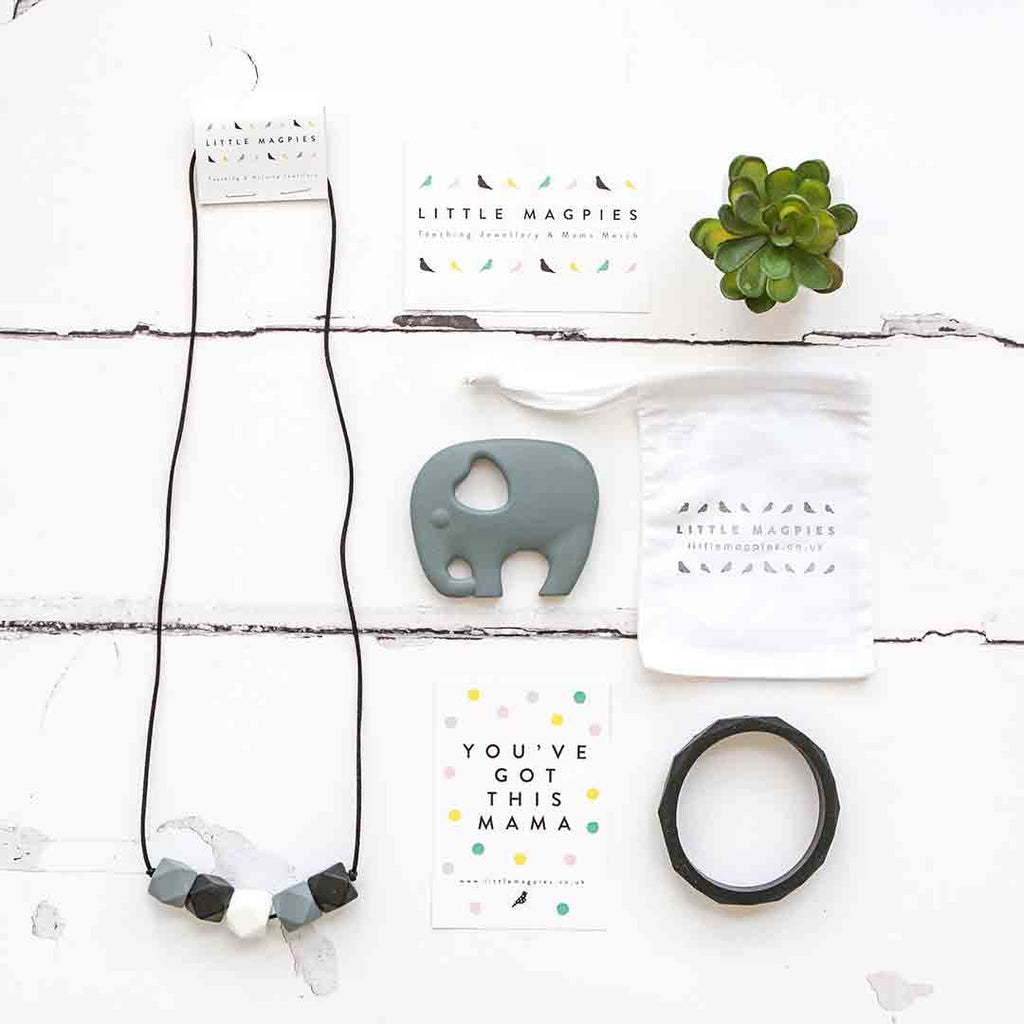 Little Magpies Gift Set - Monochrome