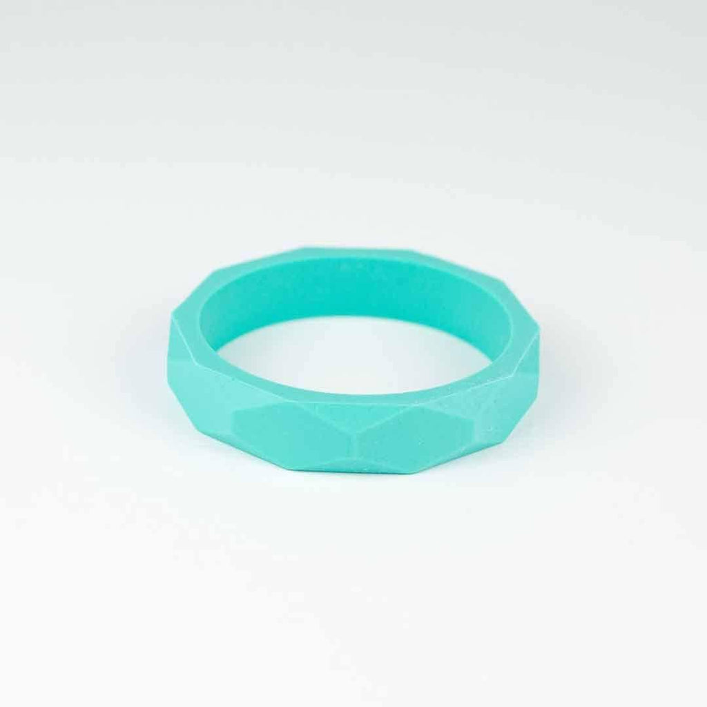 Little Magpies Silicone Teething Bangle - Turquoise