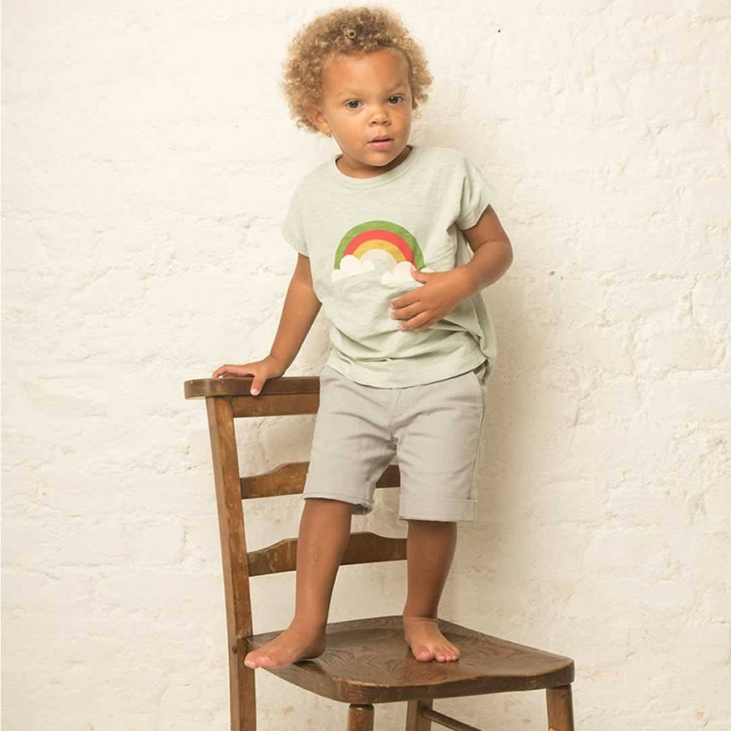 Little Green Radicals Slub Jersey Tee Over The Rainbow Lifestyle