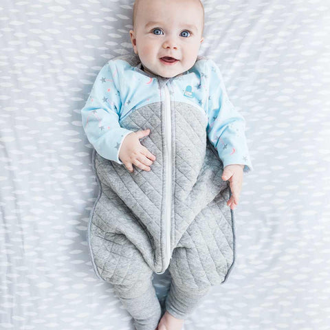 Love to Dream Sleep Suit - 2.5 TOG - Blue-Sleepsuits- Natural Baby Shower