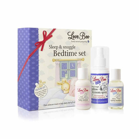Love Boo Sleep & Snuggle Bedtime Set - Gift Sets - Natural Baby Shower