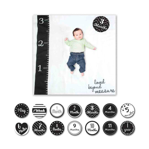 Lulujo Milestone Sets - Love Beyond Measure-Gift Sets-Default- Natural Baby Shower