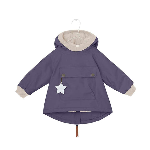 MINI A TURE Baby Wen Jacket - Blue Nights-Coats & Snowsuits- Natural Baby Shower