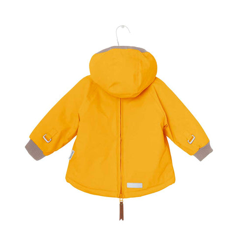 MINI A TURE Baby Wen Jacket - Mineral Yellow-Coats & Snowsuits- Natural Baby Shower